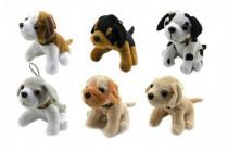 Pes plyš 10cm - mix variantov či farieb