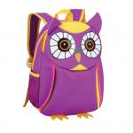 Easy 920532 batoh neoprenový - dětský, sovička fialová