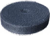 Jutová stuha 4 cm x 25 m - tmavo modrá