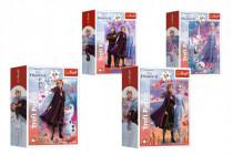 Puzzle mini 54 dielikov Ľadové kráľovstvo II / Frozen II 4 druhy