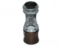 mlynček na korenie KLASIK 15cm akryl + driev. morený