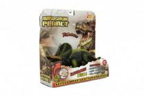 Dinosaurus plast 23-25cm na batérie so zvukom a svetlom 2druhy