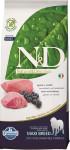 N & D Grain Free Dog Adult Lamb & Blueberry 12 kg
