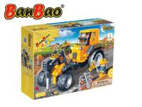 Stavebnice BanBao Auto se sbíječkou na zpětný chod 262ks + 2 figurky