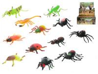Hmyz strečový 8-13 cm - mix variantov či farieb