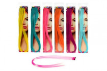 Příčesek do vlasů 50cm - mix barev