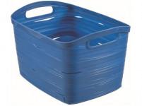košík RIBBON 38,5x29x24cm (L) plastový, MO