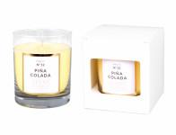 Sviečka v skle Parfum No.12 Piňa Colada vonná 250g
