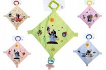 Uspávačik Krtek plast / látka 30cm - mix farieb