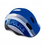 Spokey DEFENCE Dětská cyklistická přilba, 44-48 cm