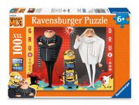 Ravensburger puzzle Mimoni Ja, Zloduch 3, 100 dielikov
