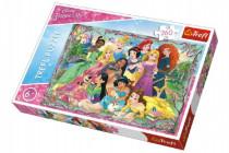 Puzzle Princezné 260 dielikov 60x40cm