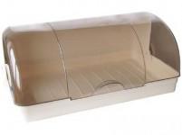 chlebník 42x23x17cm plastová - mix farieb