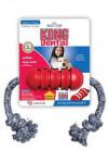 Hračka pes KONG Dental s lanom M 47x5cm