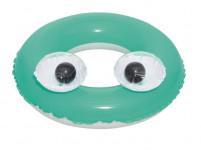 Detský nafukovací kruh Bestway Big Eyes zelený - VÝPREDAJ