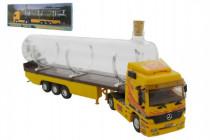 Stavebnica Monti 55/1 Souvenir Truck 32cm zberateľský model + sklenená fľaša