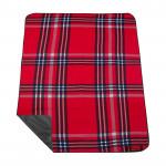 Spokey PICNIC HIGHLAND Pikniková deka s popruhem 130 x 150 cm