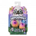 Hatchimals žiariace zvieratka dvojbalenie serie 4 - mix variantov či farieb