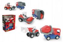 Auto stavebné Tech truck 2v1 plast 23cm Wader