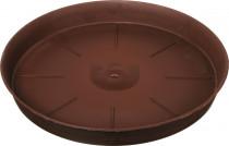 Plastia miska Tulipán - čokoládová 45 cm
