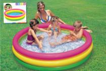 Bazén nafukovací dno 114x25cm