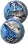 Míč 23cm delfíni/rybičky/mušle
