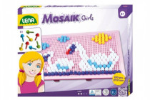 Mozaika pro holky klobouček 1cm