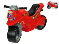Motorka odrážadlo červené 68x48x29 cm max. 30 kg