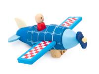 Letadlo - dřevěná montessori stavebnice na magnetky