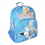 Školský batoh Sequins Ľadové kráľovstvo s flitrami