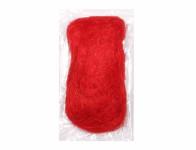 Vlákno sisalové červené 50g