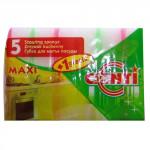 houbička na nádobí MAXI 9x6x2,5cm (5+1 zdarma) - mix barev