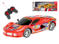 R/C auto sportovní 20 cm 27 MHz na baterie plná funkce - mix barev