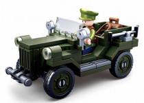 WWII Vojenský Jeep