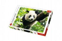 Puzzle Panda 500 dílků 48x34cm