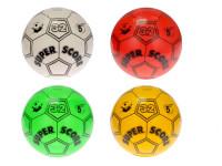 Lopta 23 cm futbalový - mix farieb