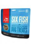 Orijen Dog pochúťka FD Six Fish Treats 92g