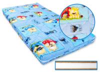 Dětská matrace 120x60x8 cm,kokos - molitan - kokos, modrá, Cuculo