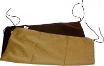 Pelech fretka závěsný - mix barev 55 x 55 cm