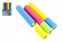 Vodní trubice pěnová 45cm s rozprašovačem - mix barev