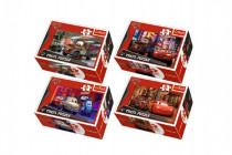 Minipuzzle Cars 2/Disney 54dílků - mix variant či barev