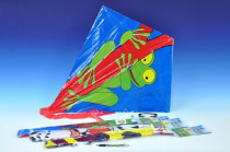 Drak lietajúci plast 72x68cm - mix variantov či farieb - VÝPREDAJ