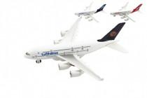 Lietadlo kov / plast 22cm na voľný chod 3 druhy