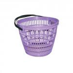 košík záhradné pr.28cm nosnosť 5kg plastový - mix farieb