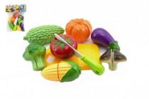 Krájací ovocie a zelenina s riadom plast 19x25cm