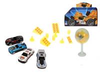 Auto kov 7 cm voľný chod s doplnkami v plastovom lízanke - mix variantov či farieb
