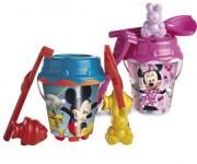 Pískový set Mickey a Minnie - mix variant a barev
