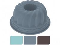 forma na bábovku 24cm silikón - mix farieb