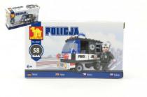 Stavebnica Dromader Polícia Auto 23201