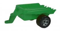 Přívěs vozík vlečka za traktor plast